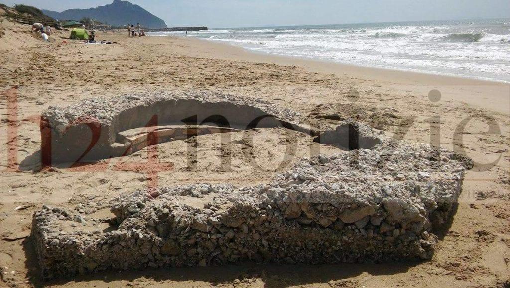 L 39 erosione scopre una postazione della seconda guerra mondiale for Decorati 2 guerra mondiale