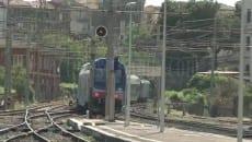 Zingaretti (di nascosto) a Formia inaugura un nuovo treno per pendolari