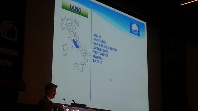 Le località del Lazio che hanno conquistato la Bandiera Blu