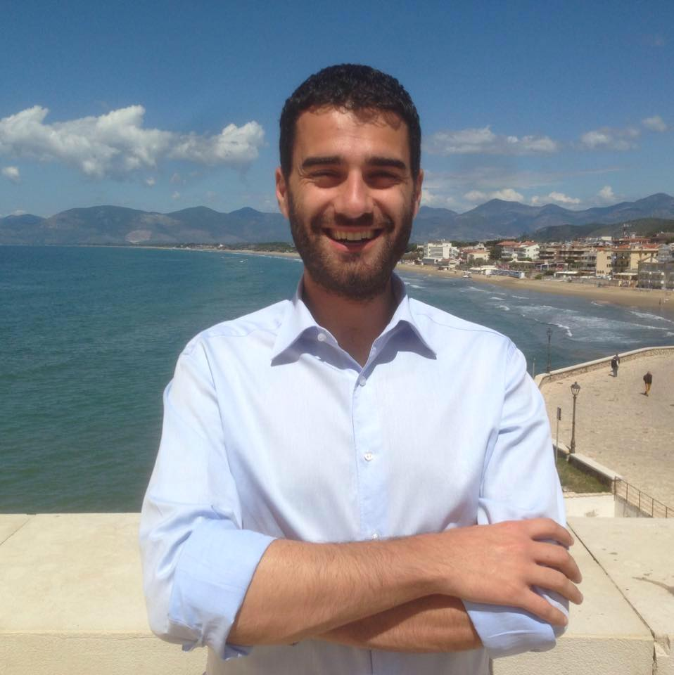 Il candidato sindaco Toscano
