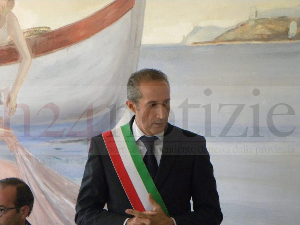 Il sindaco Cusani