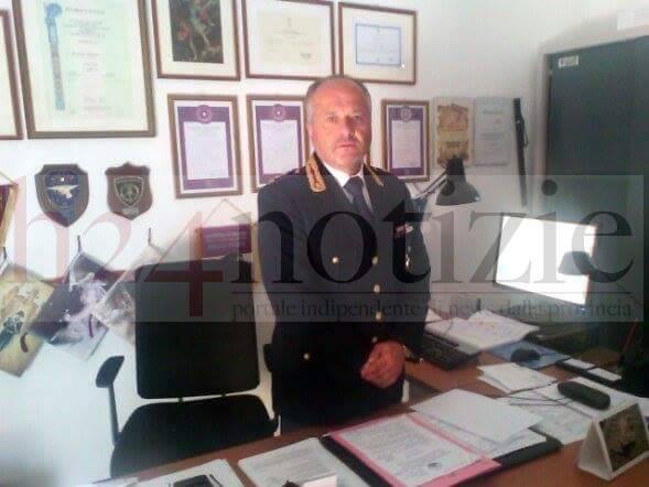 Il vice questore Maurizio Mancini