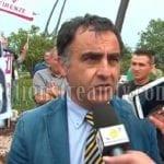 Manifestazione degli ambulanti: il pontino Marrigo Rosato sul palco per l'intervento conclusivo