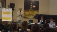 Il sindaco Coletta, intervenuto all'incontro