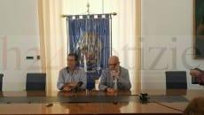 Maurizio Tallerini e il sindaco Sandro Bartolomeo