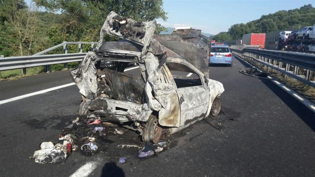 Madre e due figli vittime incidente A1