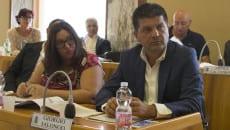 I consiglieri Giorgio Ialongo e Giovanna Miele