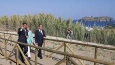 Renzi, Merkel e Hollande a Ventotene