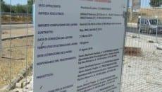 Lo stato dei lavori del parcheggio l'8 agosto