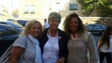 Da sinistra Rosa Saraniero, Susanna Camusso e Anna Rajola