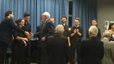 Antonelli si congratula con i vincitori