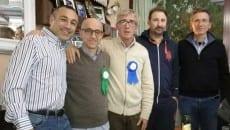 Alessandro Giorgi, Antonio Sorrenti, Giampiero Trivellato, Alberto Spagnoli, Renzo Traballoni