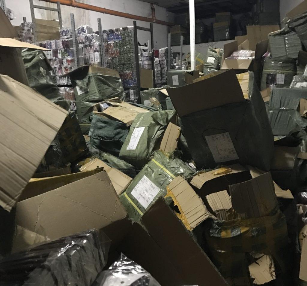 Contraffazione: Gdf sequestra in Sardegna oltre 4 mln prodotti