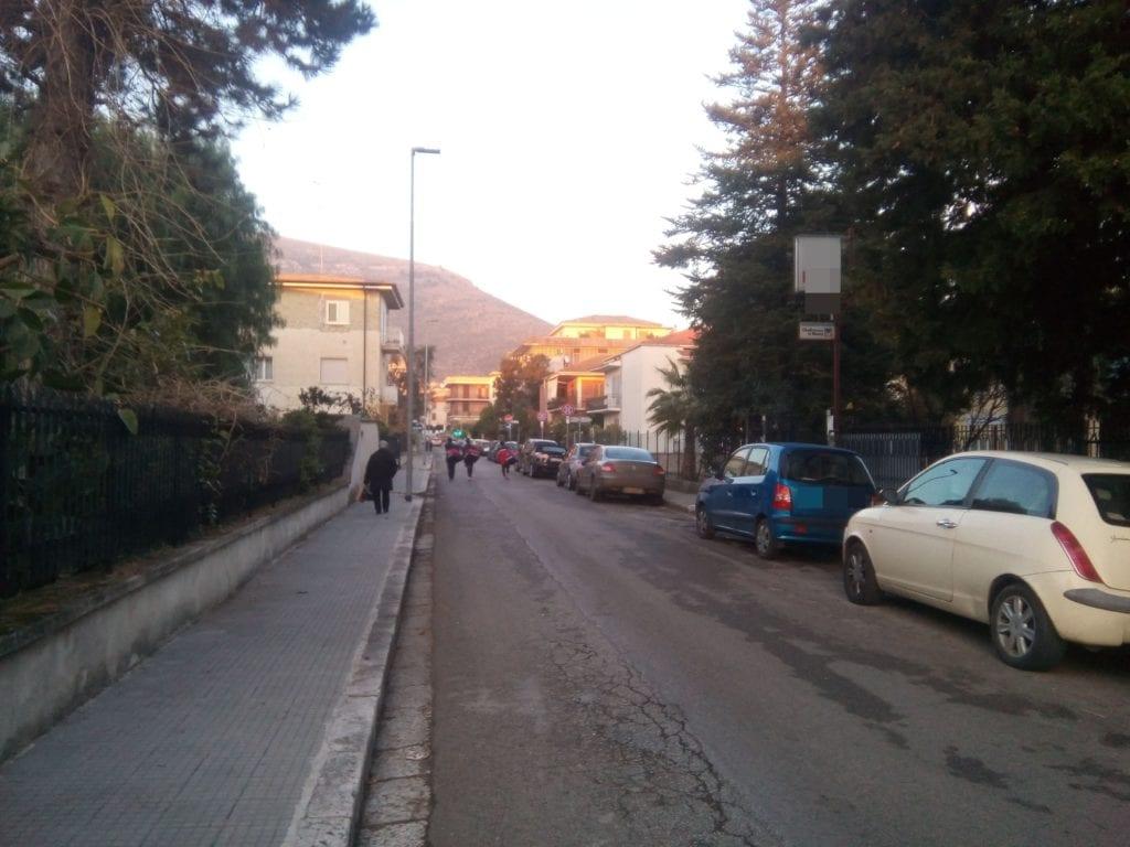 L'area di via Spinete dove ha sede la struttura