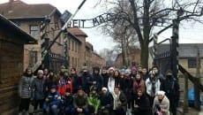 Studenti Auschwitz 2016