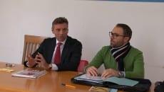 Aldo Forte e Antonio Di Rocco ieri in conferenza stampa