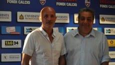 Luca Evangelisti con Nicola Ciarlone