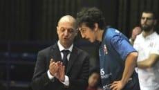 Coach Gramenzi e capitan Uglietti
