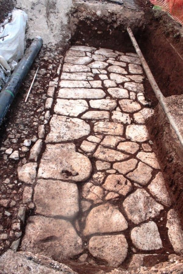 Ritrovamenti archeologici nella valle dei Santi