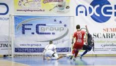 Latina calcio a 5 Axed Group contro Cioli Cogianco Genzano