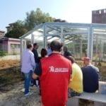 Aprilia, Summer Drink alla serra fotovoltaica
