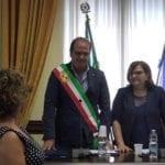 Il giuramento del sindaco Mitrano, al via il secondo mandato