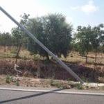 Palo pericolante in via Vallelata, APL sollecita un intervento