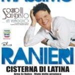 Rinviato al 27 luglio il concerto di Massimo Ranieri a Cisterna