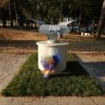 Aprilia, inaugurato il monumento alla memoria di Falcone e Borsellino