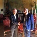 Passaggio di consegne al Circeo, gli auguri del sindaco uscente Petrucci