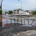 Perdita idrica in via degli Orti a Gianola… e la rabbia sale (#video)