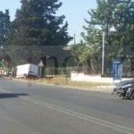 Incidente sulla Pontina: si scontrano un'auto e un furgone