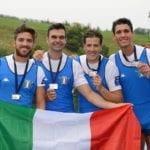 Canottaggio, Fiamme gialle: un argento e un bronzo in Coppa del Mondo