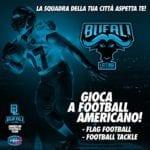 """Il football americano a Latina, torna la carica dei """"Bufali"""""""