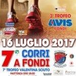 """""""Corri a Fondi"""", la settima edizione della gara podistica"""