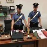 Furto, ricettazione e commercio di merce contraffatta: due arresti