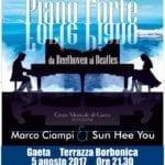 """""""Piano Forte …da Beethoven ai Beatles"""", Marco Ciampi e Sun Hee You in concerto"""