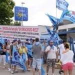 """""""Lavoro non pagato"""", sciopero all'Eurospin di Fondi. Ma la società gestrice smentisce: """"Fango"""""""