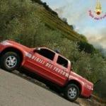 Vasto incendio a Gaeta, minacciate anche le abitazioni