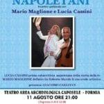 Caposele, incontro spettacolo con Lucia Cassini e Mario Maglione