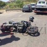 Schianto sulla Flacca, feriti due motociclisti