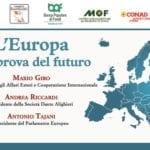 """A Fondi il 23 agosto """"L'Europa alla prova del futuro"""""""