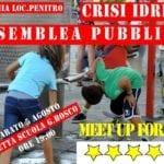 Crisi idrica a Formia e nel Sud pontino: assemblea popolare a Penitro