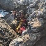 Turista elitrasportato al San Camillo dopo una caduta a Grotta delle Capre