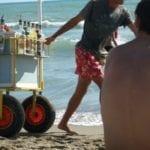 Formia, controlli interforze in spiaggia: sequestrati 15 carrettini per occupazione abusiva di area demaniale