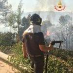 Ancora fiamme a Latina e Provincia