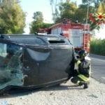 Incidente in via Acque Alte a Latina: un ferito