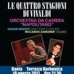 La terrazza borbonica di Gaeta ospita 'Le quattro stagioni' di Vivaldi