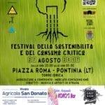 Pontinia, arriva il Festival della sostenibilità e del consumo critico