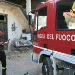Incendio in un magazzino di via Pescinola a Spigno Saturnia: è doloso